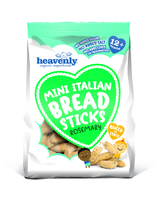 Mini Italian Breadsticks Romero Baby Food - Heavenly Tasty Organics
