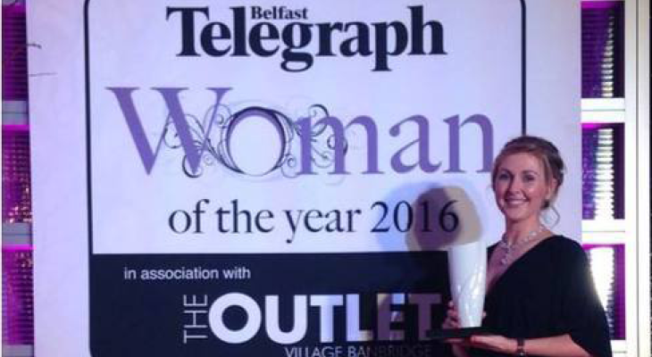 Shauna Awarded BT Business Woman of the Year - Heavenly Tasty Organics