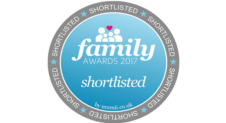 Shortlisted for Family Awards 2017 - Heavenly Tasty Organics